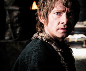 bilbo, Martin Freeman, and the hobbit image
