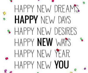 dreams, life, and new year image