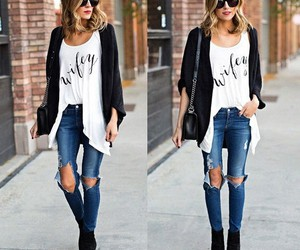 style, tumbler girl, and fashion image