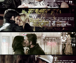 once upon a time, snowing, and ouat image