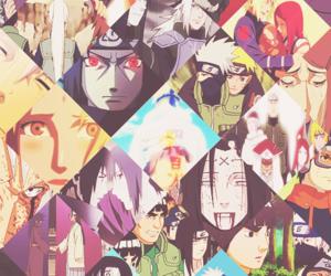 anime, naruto, and itachi uchiha image