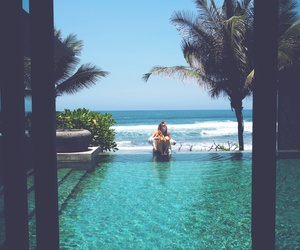 bali, beautiful, and bikini image