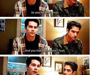 funny, scott, and stiles image