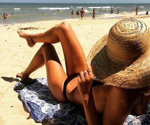luxury, beach, and black image