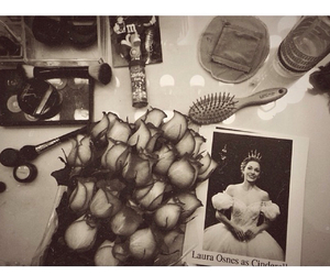 dressing table, laura osnes, and cinderella broadway image