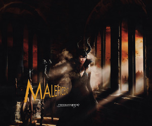 once upon a time, maleficent, and ouat image