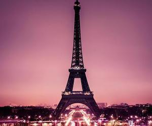 paris, beautiful, and pink image