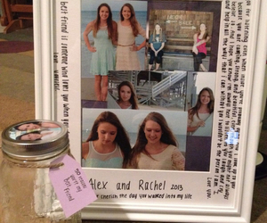 best friend, gift idea, and love image