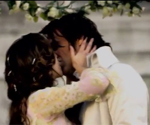 forever, kiss, and wedding image