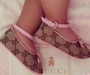 baby, gucci, and shoes image