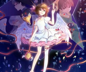 tomoyo, cardcaptor sakura, and li sharon image