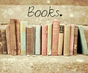 books, love, and old image
