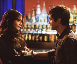 logan lerman, lily collins, and stuck in love image