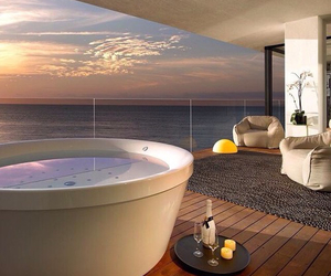 luxury, view, and sea image