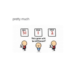 funny, humor, and new year image