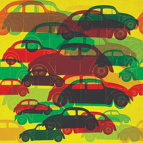 beetle, colorful, and pattern image