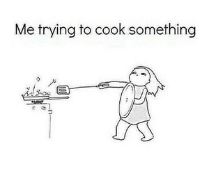funny, cook, and cooking image