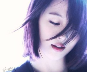 f(x), sulli, and hair image
