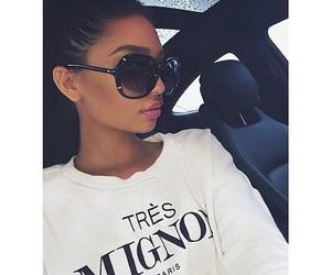 girl, sunglasses, and beauty image