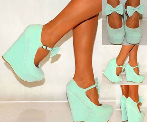bow, heels, and cute image