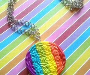 colorful, jewelry, and oreo image
