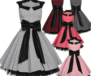 50's, awesome, and dress image