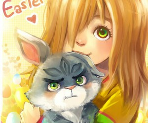 bunny, easter, and guardians image