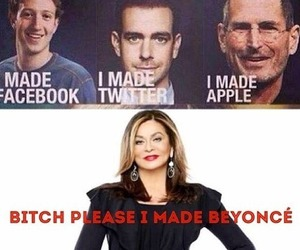 beyoncé, funny, and apple image