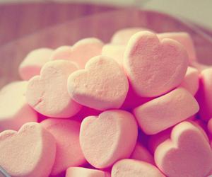 beautiful, heart, and marshmallow image