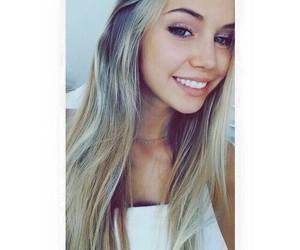 scarlett leithold, blonde, and smile image