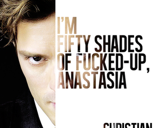 quote, Jamie Dornan, and christian grey image