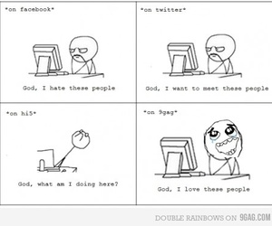 9gag, facebook, and funny image