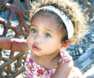 baby, cute, and curly hair image