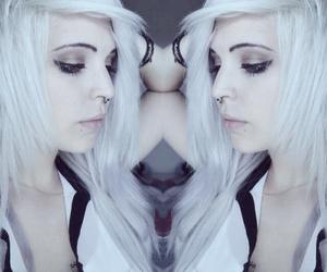 alternative, girl, and grey image