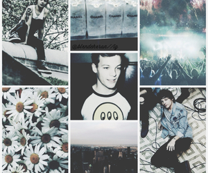 louis tomlinson, love, and one direction image