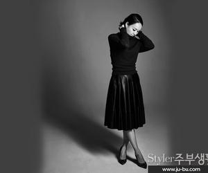 black and white, lady, and styler jubu lifestyle image