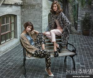 models, byun jung soo, and sisters image