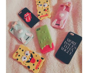iphone, case, and girly image