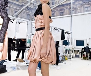girl, backstage, and Lily Donaldson image