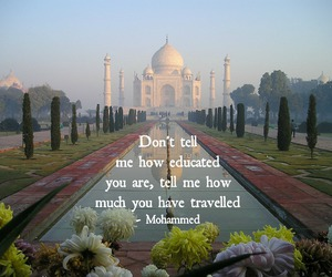 india, quote, and travel image