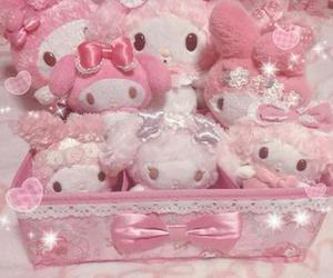 pink, aesthetic, and sanrio image