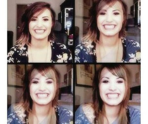 demi, smile, and teen image