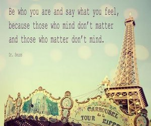 quote, text, and paris image