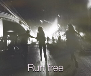 grunge, night, and run image