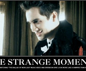 brendon urie, ghost, and the ballad of mona lisa image