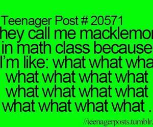 funny, macklemore, and math image