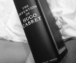 artsy, black and white, and book image