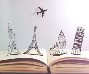 book, paris, and travel image