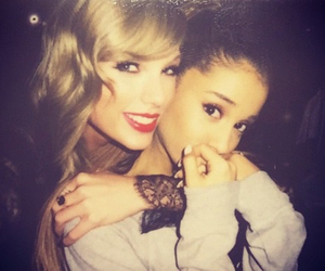 ariana grande, Taylor Swift, and ariana image