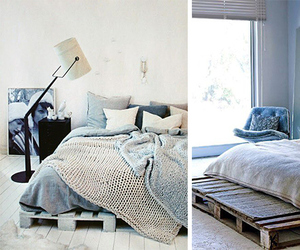 bed, trendy, and bedroom image